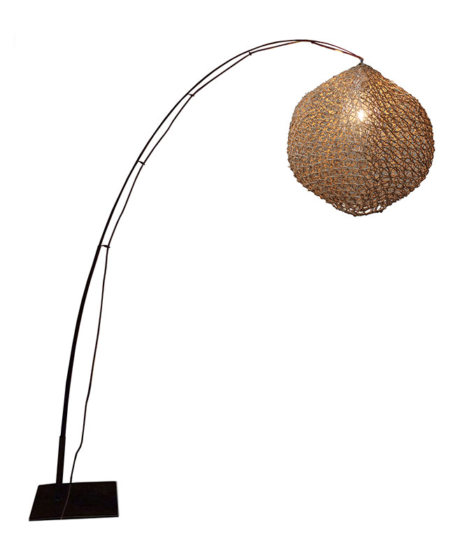 LAMPADAIRE FILET Naturel