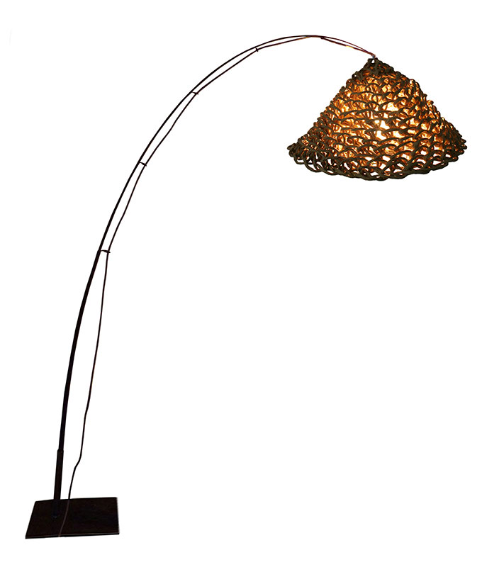 LAMPADAIRE JUPON Naturel