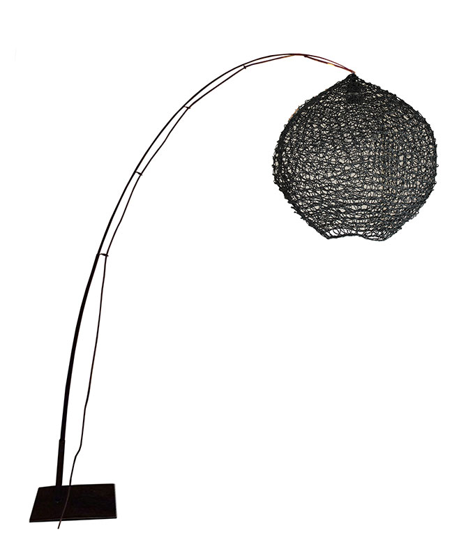 LAMPADAIRE FILET Black